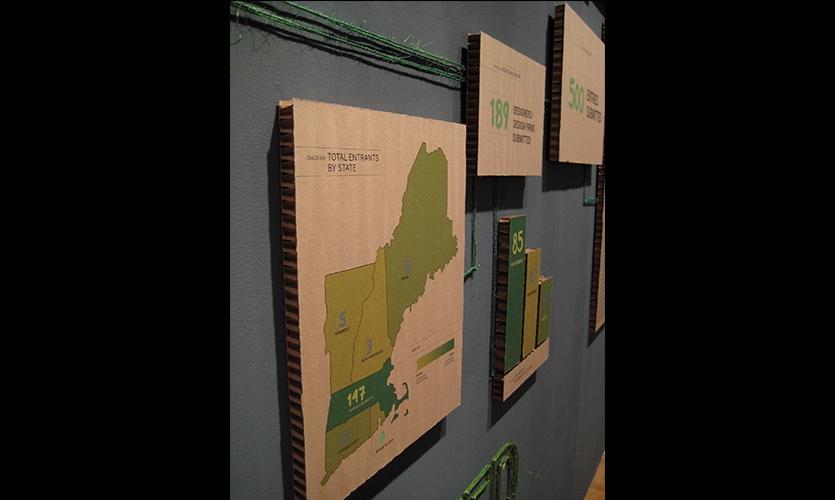 Total Entrants, 2009 AIGA Bone Show, AIGA Boston Chapter, Brandon Bird, Jeff Stammen, Christine Lefebvre