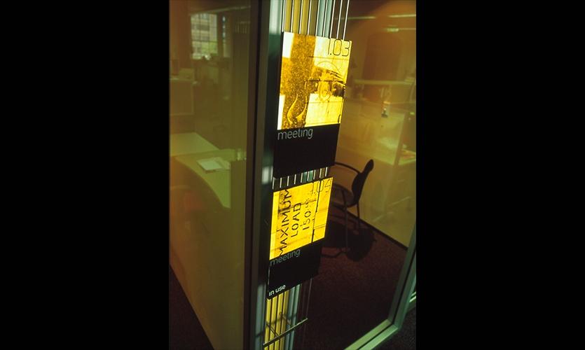 Signage, Bushells Tea Warehouse Signage, Dimension Data, Emery Vincent Design