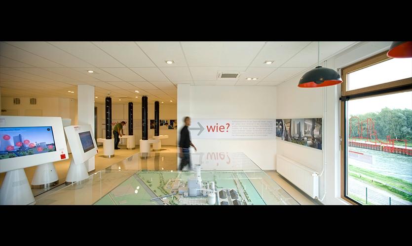 Interior Layout, E.ON Visitor Center, E.ON Kraftwerke, Kubik BV