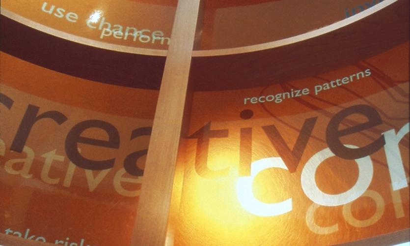 Exhibit Graphics, Explore Gallery, Bellevue Art Museum, West Office Exhibition Design