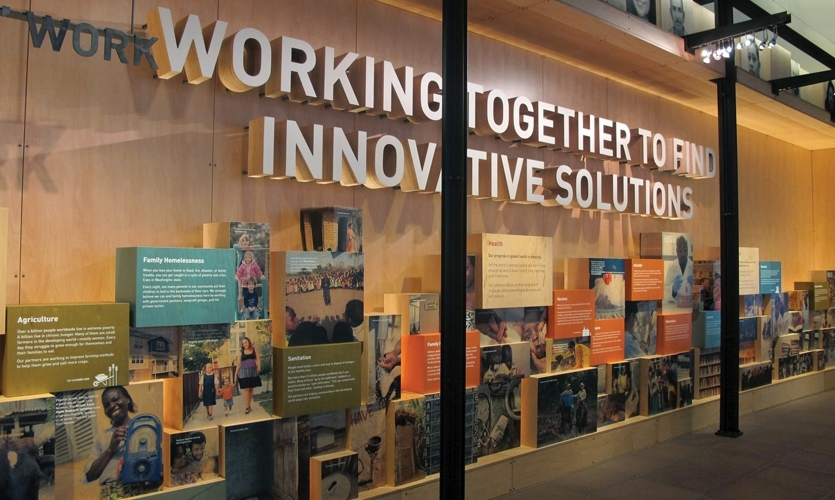 Innovation? The Bill and Melinda Gates Foundation is simply changing the world. (Exhibits: Olson Kundig Architects and Studio Matthews)