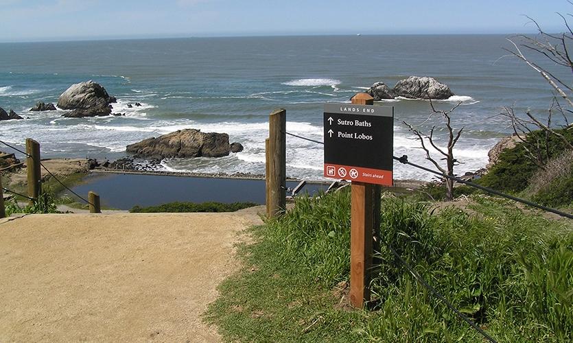 Lands End, Golden Gates, Golden Gates National Parks Conservancy, Hunt Design