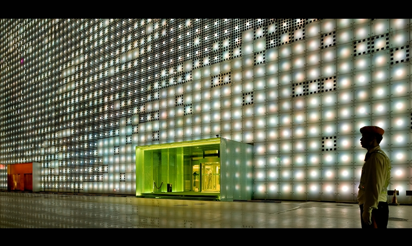 Green Doorway, GreenPix Zero Energy Media Wall, Jingya Corporation, Simone Giostra & Partners Architects