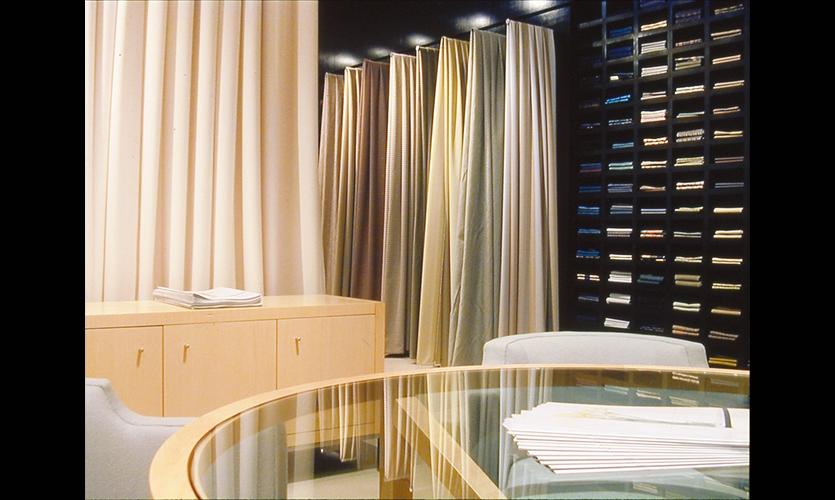 Product Displays, HBF LA Showroom, Vanderbyl Design