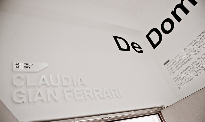 Integrated Raised Letterforms, Maxxi National Museum of XXI Century Arts, ma:design SRL
