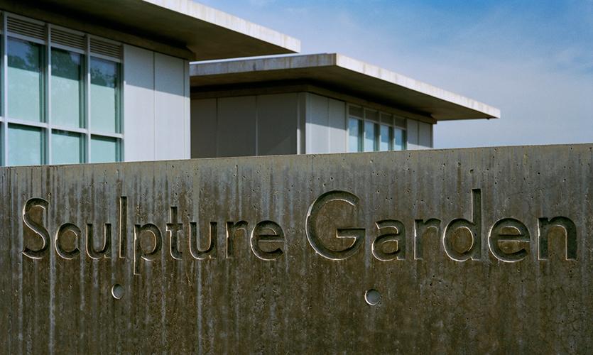 Sculpture Garden, The Modern Art Museum of Fort Worth, Pentagram