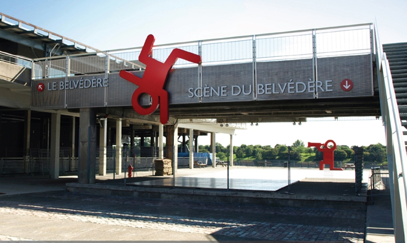 Exterior Signage, Montreal Science Centre Signage And Branding, Bélanger  Branding Design