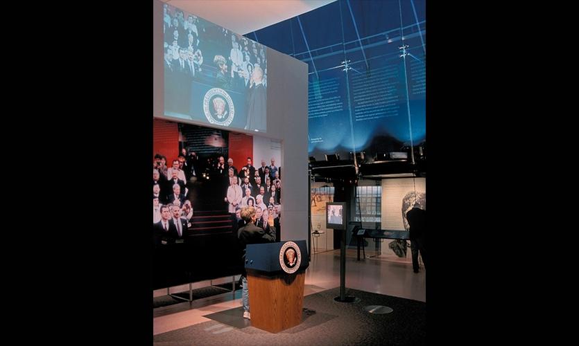 Podium, National Constitution Center, Ralph Appelbaum Associates