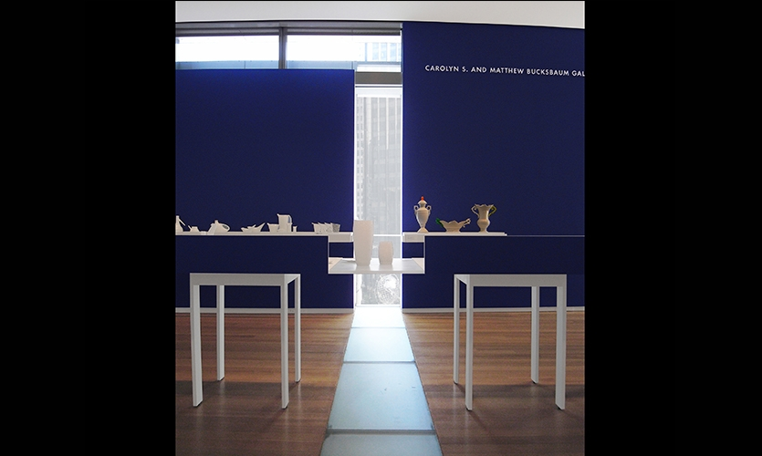 Displays, Object Factory: The Art of Industrial Ceramics, Museum of Arts and Design, Wendy Evans Joseph Architecture