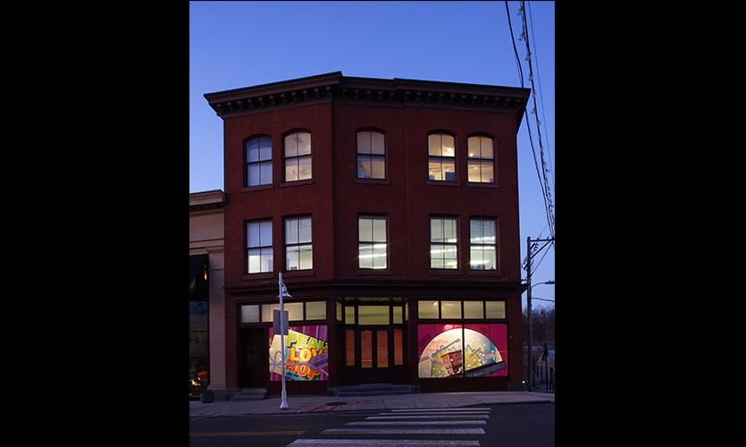 Building Exterior, Venturi Scott Brown Window Displays, Venturi, Scott Brown and Associates