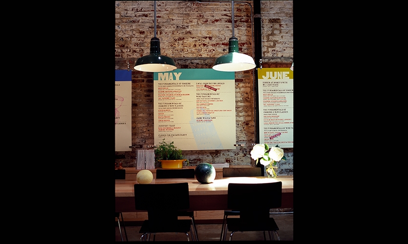 Calendar, The Savvy Gourmet, Zande+Newman Design
