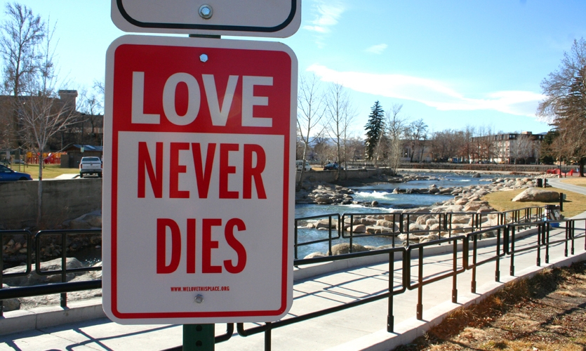 """Love Never Dies"", Signs of Love/Signs of the Holidays, We Love This Place!, The Glenn Group"