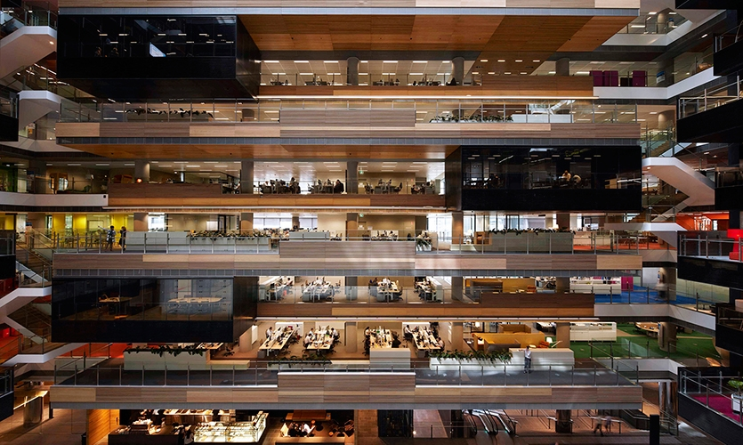 Wideview of Each Floor, ANZ Centre, ANZ, Fabio Ongarato Design, HASSELL, Lend Lease Design