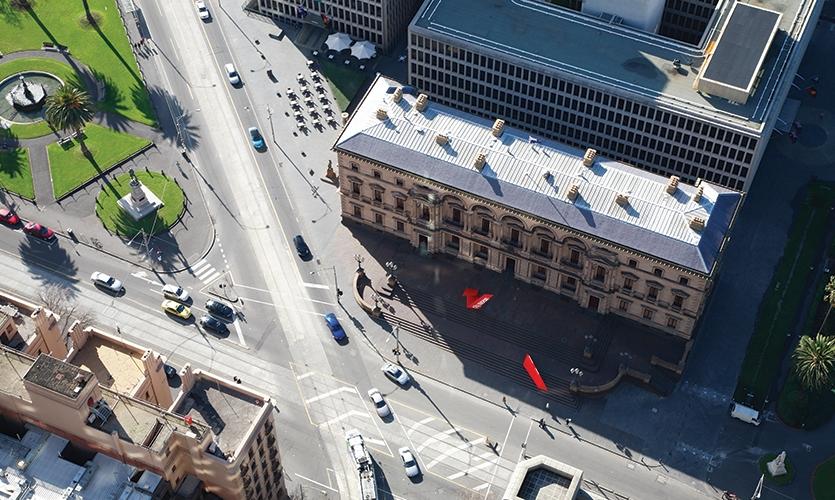 Aerial View, City Museum, emerystudio