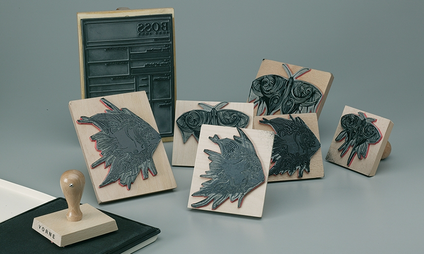 Stamps, Hugo Boss Orange Concept Store, Hugo Boss AG, Projekttriangle Design Studio