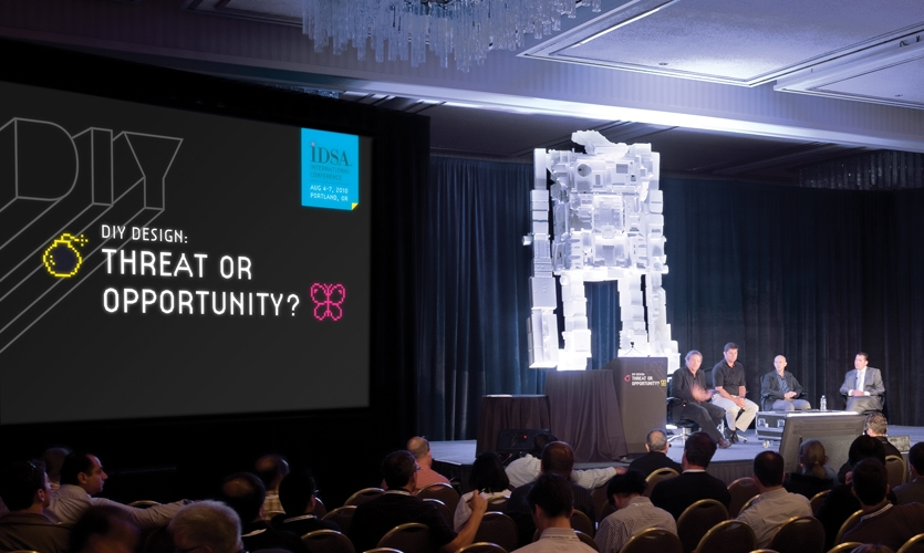 Meeting Identity during Presentation, IDSA Annual Meeting, Industrial Design Society of America, Ziba Design
