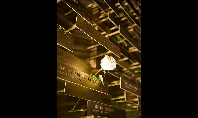 Flower, LAPD Memorial, Los Angeles Police Foundation, Gensler