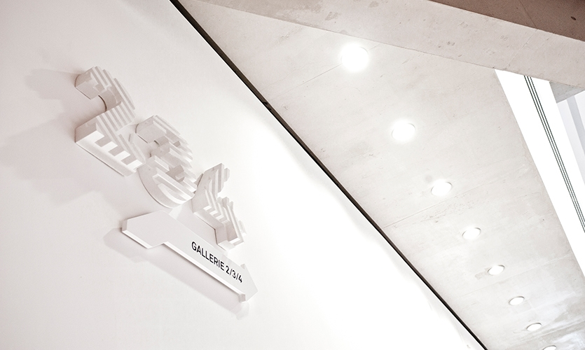 Raised Number and Letter Forms, Maxxi National Museum of XXI Century Arts, ma:design SRL