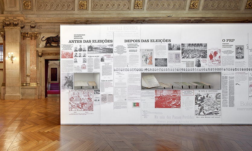 Graphic Timeline, Reflex, Assembleia da República, P-06 Atelier