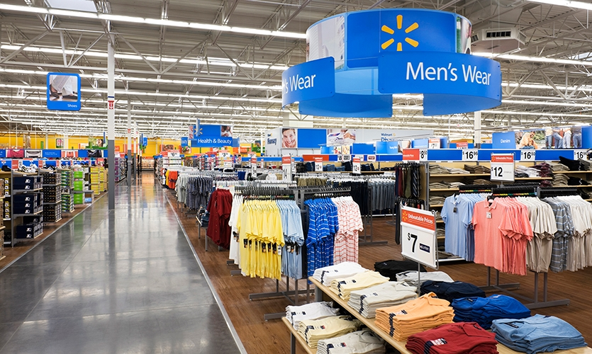 Men's Wear, Wal-Mart Retail Environment, Wal-Mart, Lippincott