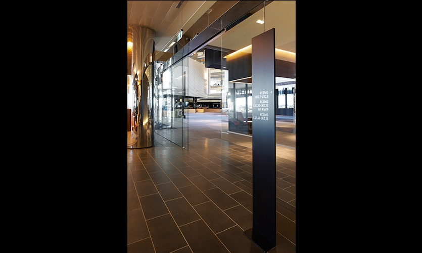 Wayfinding Signage, ANZ Centre, ANZ, Fabio Ongarato Design, HASSELL, Lend Lease Design