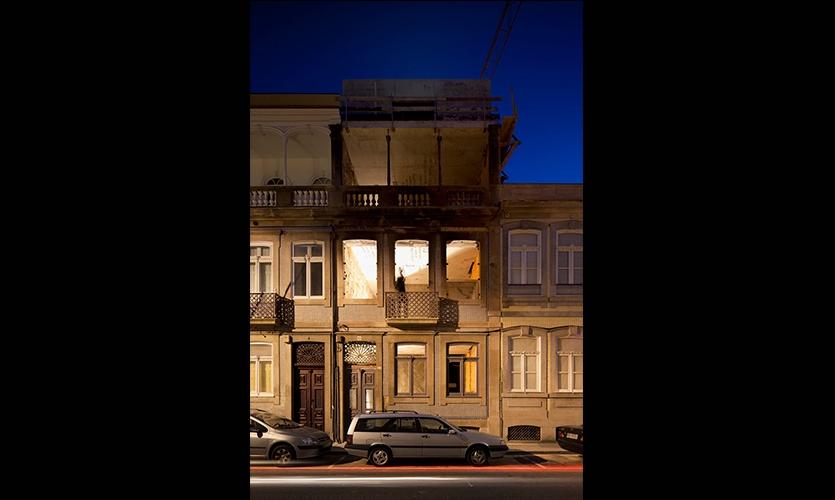 Outdoor View of Exhibit, Casa do Conto (House of Tales), R2 Design
