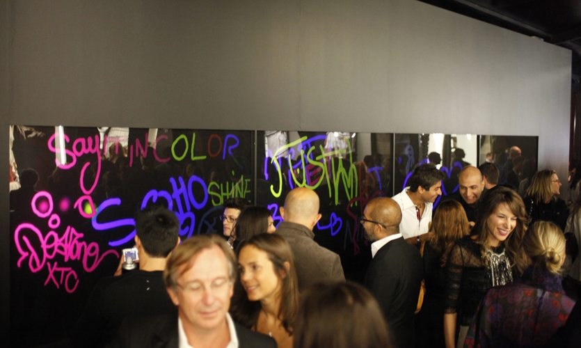Crowd Gathering, Chanel Media Installation, Chanel, Apologue
