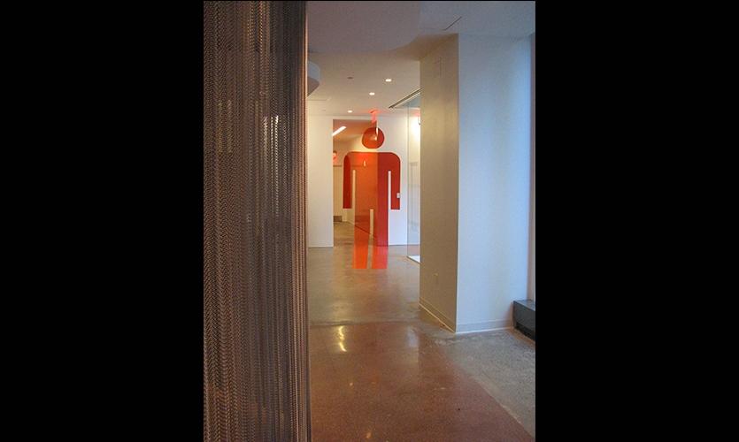 Hallway, Grey Group, Pentagram
