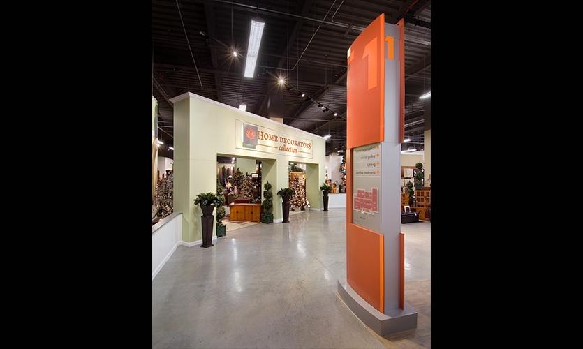 Section Identification, Home Depot Design Center, Home Depot, Little