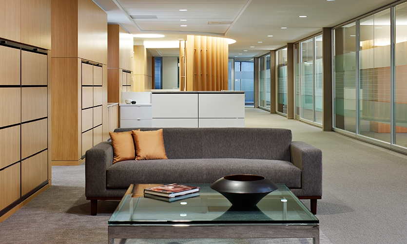 Interior, Invesco Headquarters, Invesco, Gensler