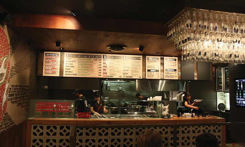 Restaurant Menu, Mad Mex Fresh Mexican Grill, Holy Cow! Design & Advertising