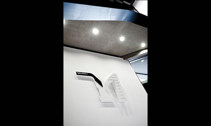 Raised Wayfinding Form, Maxxi National Museum of XXI Century Arts, ma:design SRL