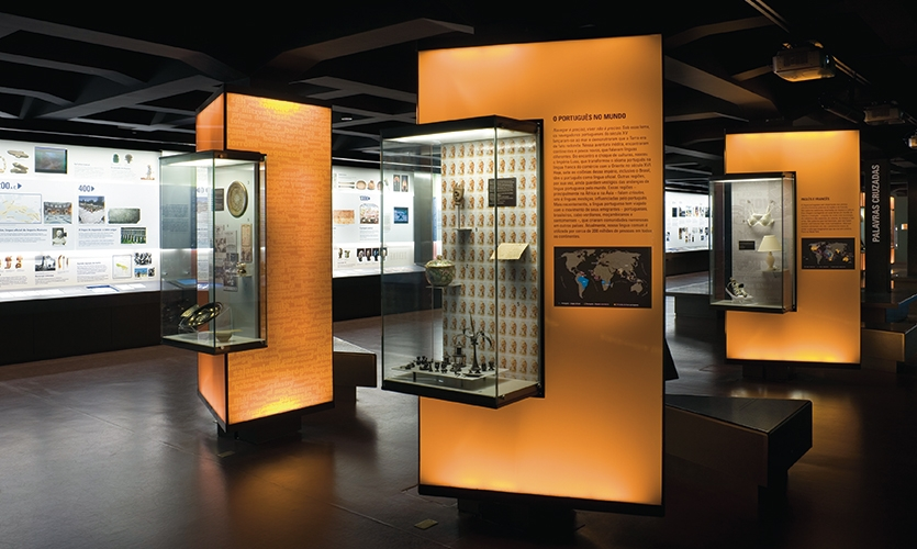 Displays, The Museum of the Portuguese Language, Fundacao Roberto Marinho, Ralph Appebaum Associates
