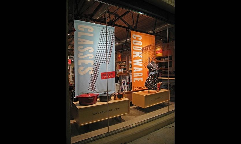 Display, The Savvy Gourmet, Zande+Newman Design