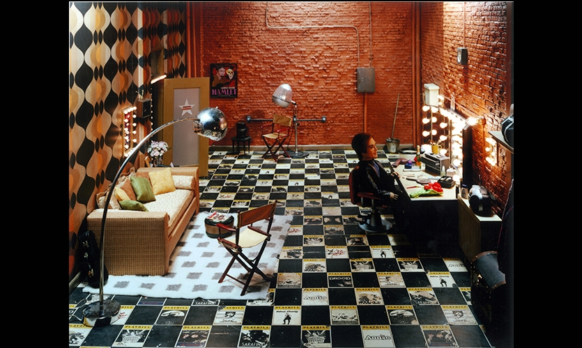 Dressing Room, Team America, Paramount Pictures, Rockwell Group