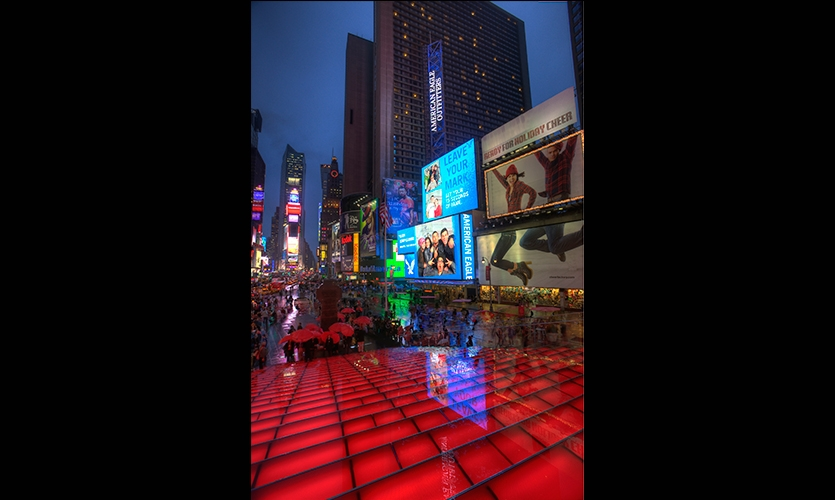 Time Square at Night, American Eagle Outfitters Flagship Spectacular, American Eagle Outfitters, The Barnycz Group