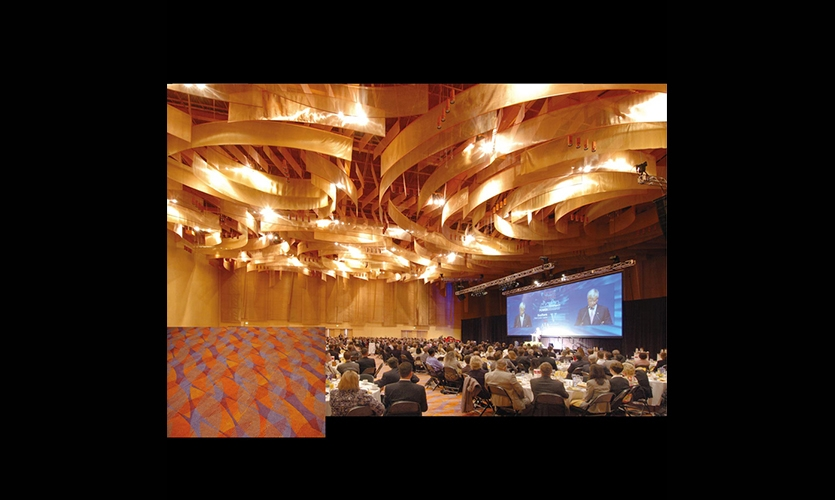 Lighting and Floor Textures, Duke Energy Center, City of Cincinnati Department of Transportation and Engineering, Sussman/Prejza & Company, LMN Architects