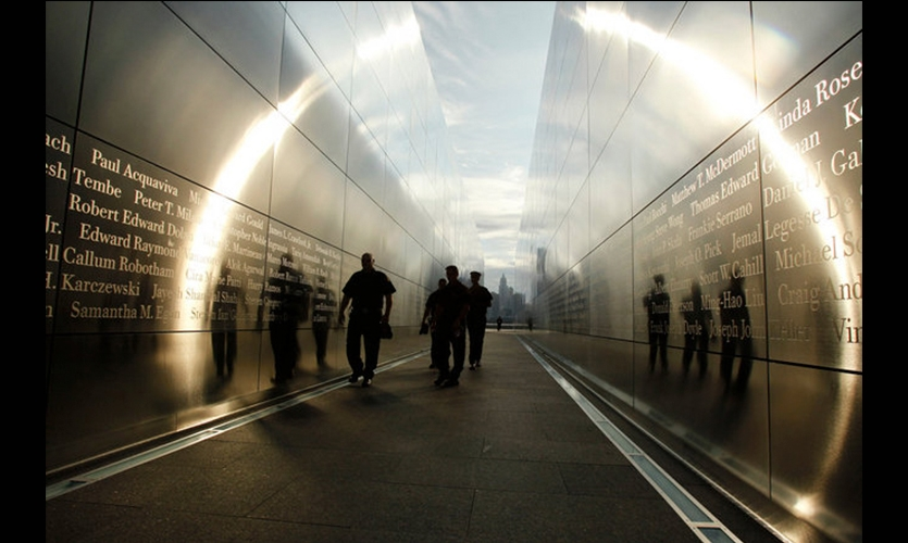 Sunlight and Viewers, Empty Sky: The New Jersey 9/11 Memorial, State of New Jersey Department of Treasury, Frederic Schwartz Architects