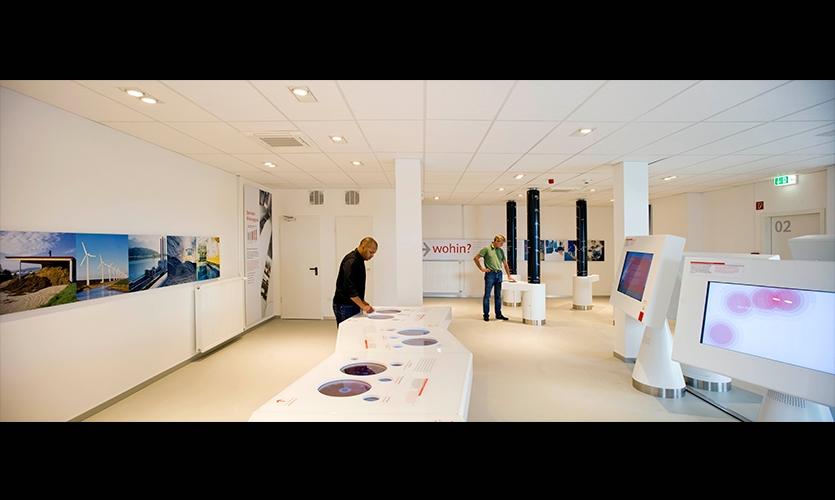 Visitors, E.ON Visitor Center, E.ON Kraftwerke, Kubik BV