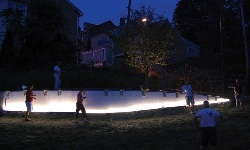 Neighbors, Monastery Street Park, South Side Slopes Neighborhood Association, Loysen + Kreuthmeier Architects