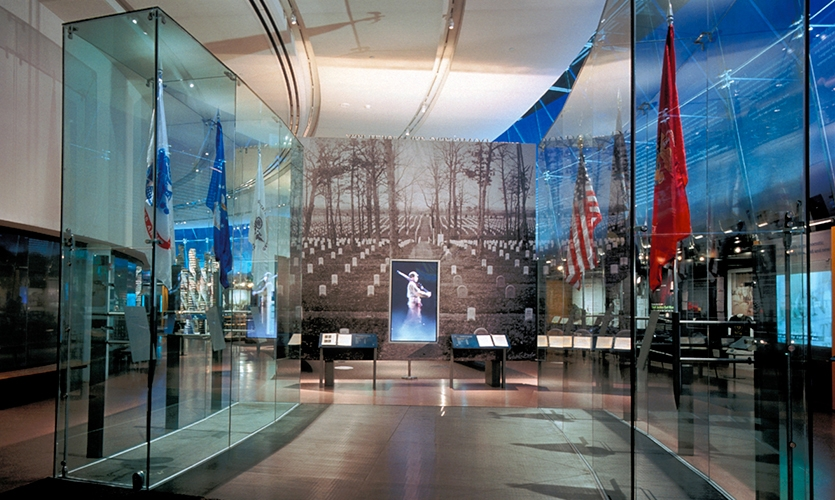 Flag Displays, National Constitution Center, Ralph Appelbaum Associates