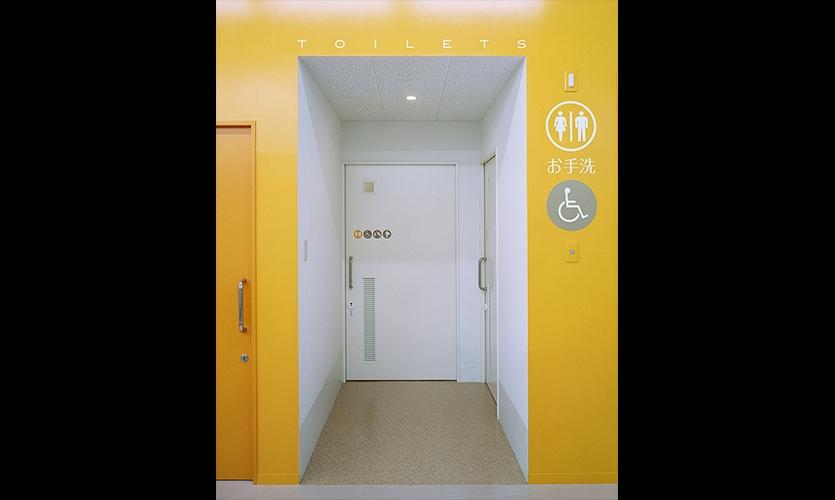 Room Identification, San-Ai Clinic Color and Signage Design, San-Ai Kai Medical Corp., MED