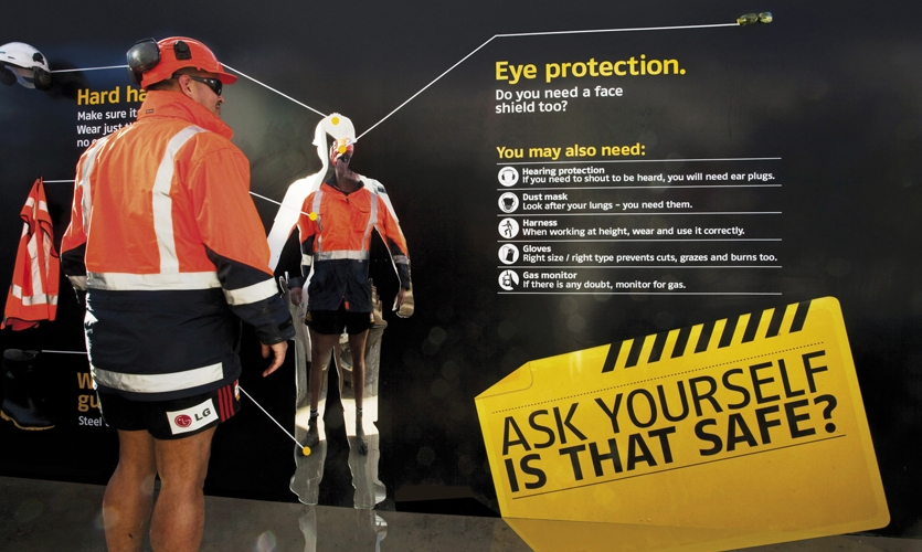 Worker Safety Checklist, Site Safety Installation, Fletcher Construction, Studio Alexander