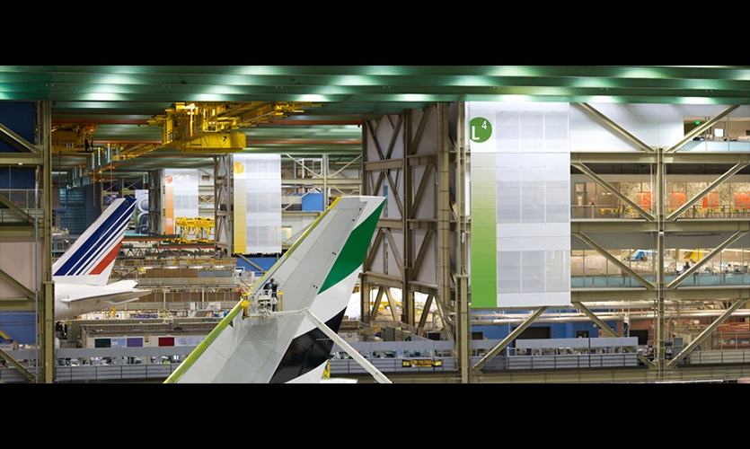 Interior Graphics, Boeing Future Factory, The Boeing Company, NBBJ