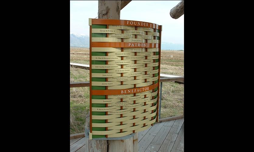 Founders, Patrons, and Benefactors, Great Salt Lake Shorelands Preserve, The Nature Conservancy, Utah, Sea Reach Ltd.