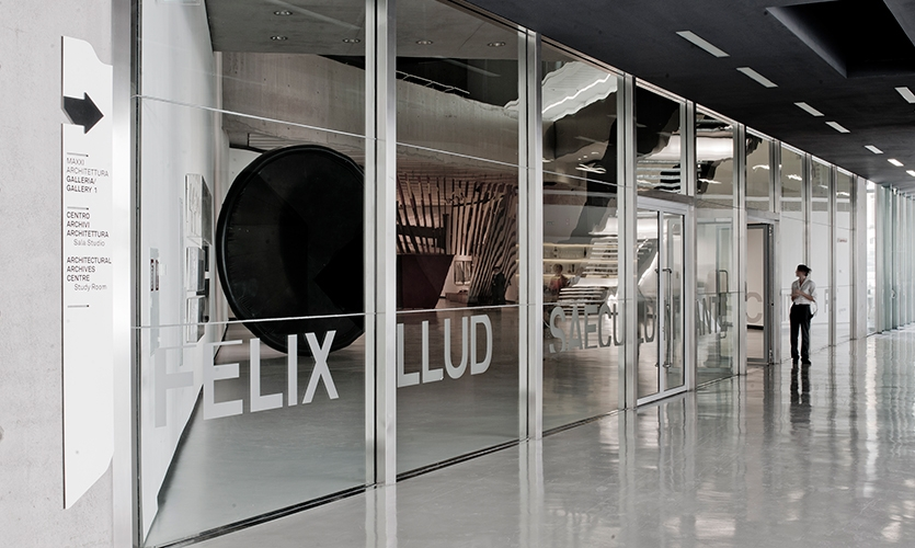 Window Typography, Maxxi National Museum of XXI Century Arts, ma:design SRL