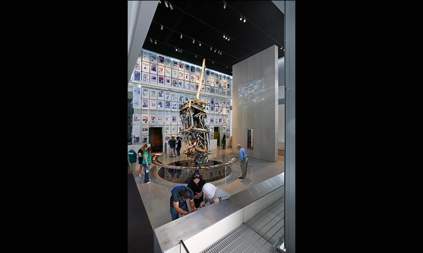 Interior, Newseum, Ralph Appelbaum Associates