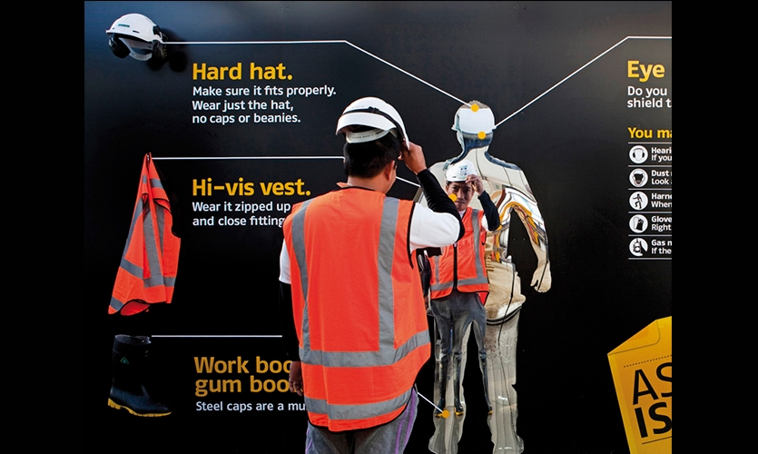 safety of workers at construction site Construction site safety is a big issue, with 3% of the uk's construction sector  employees experiencing a work-related injury each year in fact.
