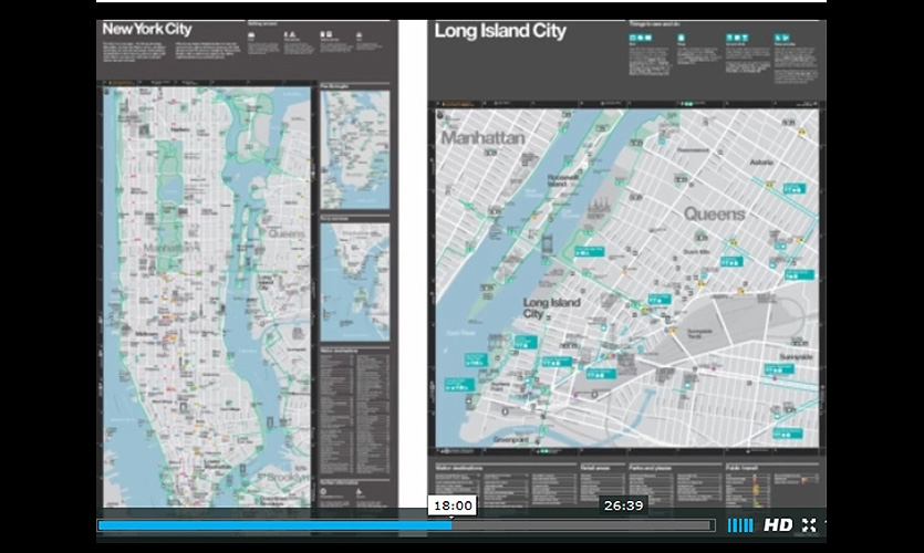 Tour with the people leading a massive redesign of NYC's digital and physical infrastructure to make wayfinding in the City more pedestrian oriented and easier to navigate.