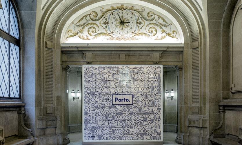 From Archigraphia Redux: Porto; Porto, Portugal; Design Firm: White; Client: Camara Municipal do Porto